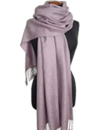 Nella-Mode Edler & Eleganter Schal, Stola; - Florales Muster; - viele Farben