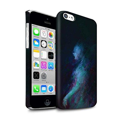 Offiziell Chris Cold Hülle / Matte Snap-On Case für Apple iPhone 5C / Pack 10pcs Muster / Dunkle Kunst Dämon Kollektion Geist/Ghul