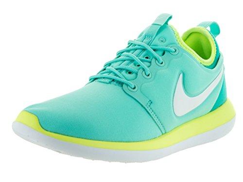 Nike Roshe Two (Gs), Scarpe da Corsa Donna Turquesa (Hyper Turq / Mtlc Summit Wht-Volt)