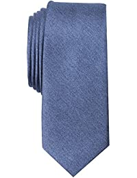 Original Penguin Men's Solid Satin Super Slim Tie Accessory