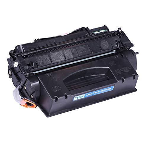 RSQGBSM Bürobedarf Laserdruckerzubehör Tonerkartusche für HP 53x 49x Q7553x Q5949x 2015d HP2015 Tonerkartusche (Schwarz) (Toner 49x)