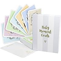 Colección de tarjetas y caja de recuerdos «Baby Milestone», 40 tarjetas unisex para