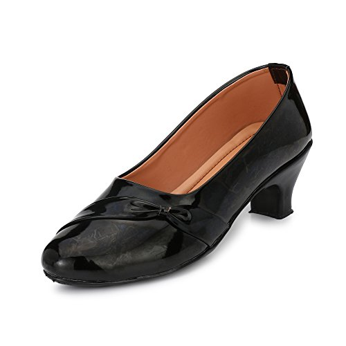 Stiletto For Women Casual Black Cusp Toe Low Heeled Pumps Shoes For Women Sandals For Women Casual Black Cusp...
