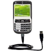 Classico Cavo USB Dritto compatibile con HTC Excalibur con Power Hot Sync e Capacità di Caricamento Adotta la Tecnologia TipExchange