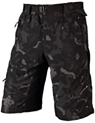 Endura - Man Hummvee Shorts (with Liner Short), color multicolor, talla S