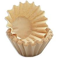 350x kleine Kaffee-Korbfilter braun 80/200 Filter für Kaffee-Maschinen mit Mahlwerk wie Beem etc.