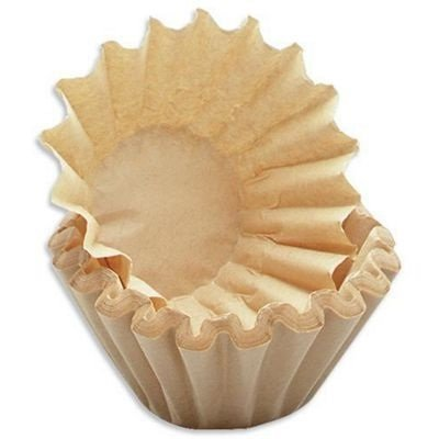 400x kleine Kaffee-Korbfilter braun 80/200 Filter für K-Maschinen mit Mahlwerk wie Beem etc. - Für Kaffee-filter Braun