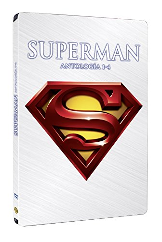 Superman (I+II+III+IV) - Pack 4 Discos Steelbook...
