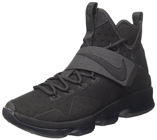 Nike Herren Lebron XIV Basketballschuhe, Grau (Anthraciteanthracite), 43 EU (Schuhe Lebron Herren-nike)