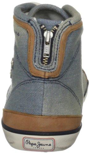 Pepe Jeans London BNW-252 B, Damen Sneaker Blau (Light Blue Jeans)