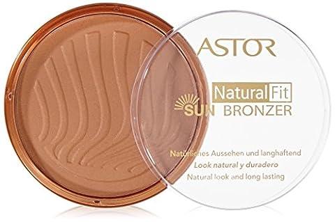Astor Natural Fit Bronzer, Farbe 5 Sun Glow, 1er Pack (1 x 14 g)