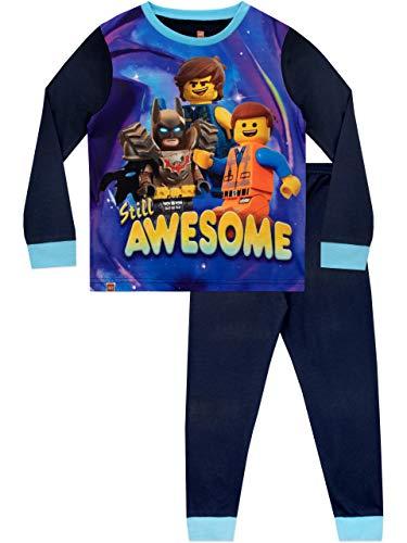 Lego Movie Jungen Schlafanzug Blau 158 (Für Batman-schlafanzug Jungen)