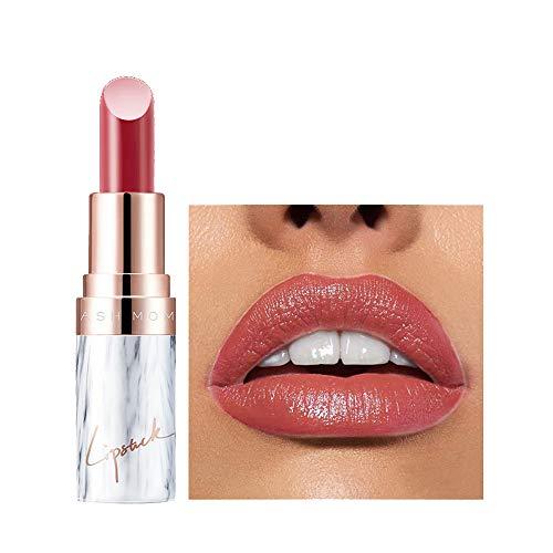 Aktionspreis,Lippenstift,PorLous Neu Beliebt Schönheit Anhaltendes Make-up Heller Lipgloss Lipstick Langanhaltender Lipgloss Feuchtigkeitsspendend 8