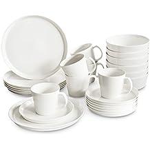 suchergebnis auf f r bone china porzellan wei tafelservice. Black Bedroom Furniture Sets. Home Design Ideas