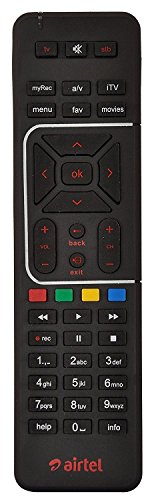 AIRTEL DIGITAL TV HD SETUP BOX REMOTE