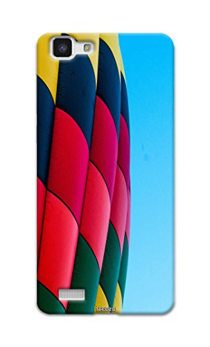 Picwik Designer Printed Back Cover / Hard Case for Vivo Y35 (Hot air balloon Design/Colourful) - Multicolor - D286  available at amazon for Rs.259