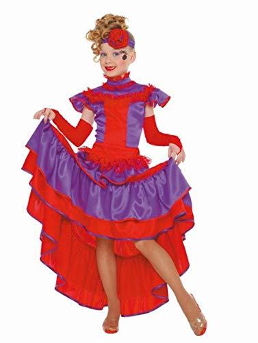 Kostüm von cancán (4-6 Jahre alt) (Vier Jahre Alt Kostüm)