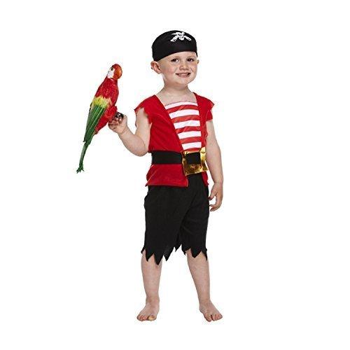 4 Kostüm Fantastic Rote - Kinder-Kostüm Pirat