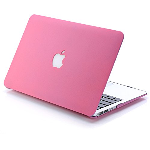 3C-LIFE Macbook-compatible Case, Abrazine Frosted Surface Colorful Slim Shockproof Scratchproof Hard Shell Cover Case for Macbook Pro 13 2016 [Pink]
