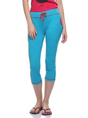 Clovia - Bas de pyjama - Femme Bleu - Bleu