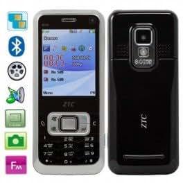 ZTC 6120 téléphone mobile double sim Bluetooth FM Lampe de poche