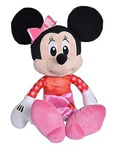 Disney 6315876778 - Peluche, Color Rojo y Rosa