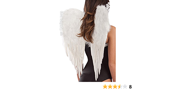 aile et plumes artificiels ailes plumes pour costume d/'ange Hxl 67x70cm Relaxdays Ailes d/'ange enfants et adultes