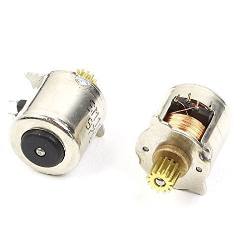 Preisvergleich Produktbild 210mm Dia 2Phase 4Draht Micro Stepper Motor U/min für Kamera