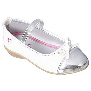 Barbie Kids Girls White Color Ballerina