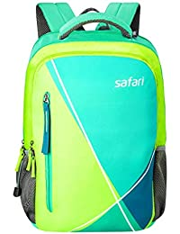 Safari 30 Ltrs Lime Laptop Backpack (Fourfolad Lime)
