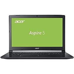 Acer Aspire 5 (A515-51G-520Q) 39,6 cm (15,6 Zoll HD matt) Multimedia Notebook (Intel Core i5-7200U, 8 GB RAM, 256 GB SSD, NVIDIA GeForce 940MX (2 GB VRAM), Win 10) schwarz