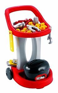 Ecoiffier 2302 - Carro con Ruedas y Herramientas de Juguete