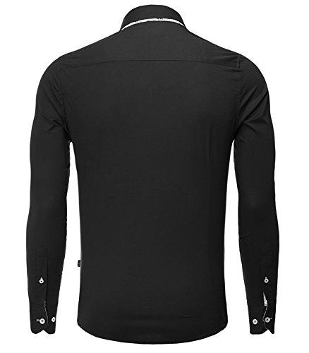 Carisma - Chemise homme élégante Chemise CRSM8244 noir - Noir Noir