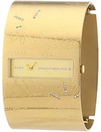 Esprit Damen-Armbanduhr atmosphere Analog Edelstahl beschichtet A.ES104622004