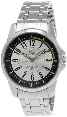 Q&Q Analog Silver Dial Men's Watch - Q708N214Y image