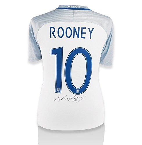 Wayne-Rooney-Hand-Signed-201617-England-Home-Shirt-Number-10