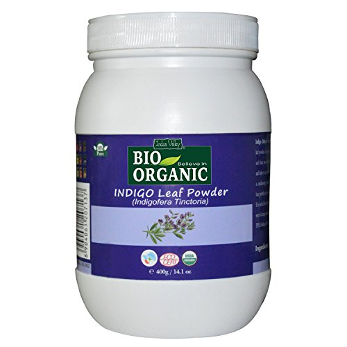 Indus Valley 100% Organic Indigo Leaf Powder 400gm  available at amazon for Rs.699
