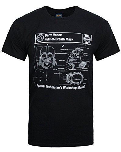 Official Haynes Star Wars Darth Vader Men's T-Shirt ()