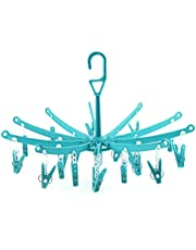Hangerworld 20 Plastic Pegs Clip Hanger (Colors May Vary)