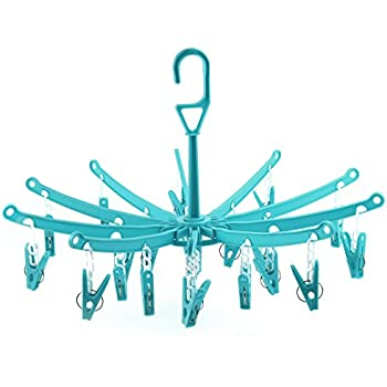 Amazon.de: HANGERWORLD 2 Blaue Kunststoff Mini