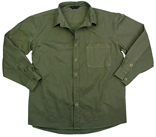 Kakadu Traders Australia -  Camicia Casual  - Uomo Verde