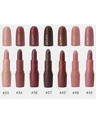 Aliver Rouge à lèvres mat et lèvres brillantes 7 couleurs / ensemble