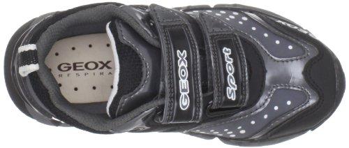 Geox Baby Rumble, Sneaker Bambino Nero (Noir/gris (C0017))