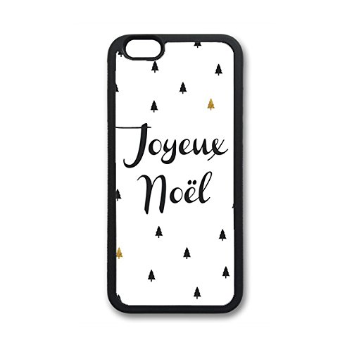 Coque silicone BUMPER souple IPHONE 6 PLUS / IPHONE 6s PLUS - Joyeux noel pere noel cadeaux CASE tpu DESIGN + Film de protection INCLUS 1