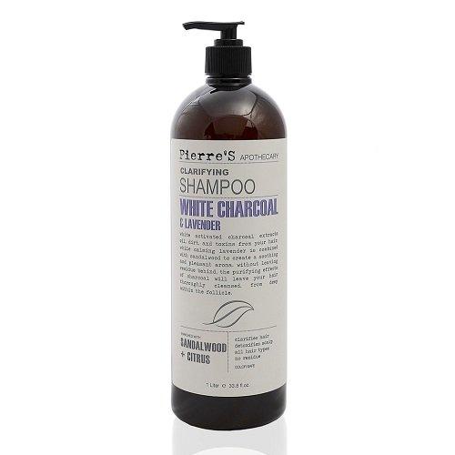 Pierre Damen-Apotheker weiß anthrazit und Lavendel Klärendes Shampoo 1L
