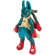 Pokemon Mega Lucario de peluche (Tamaño Grande)