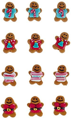 Dekoback Zuckerdekor Gingerbread, 12 Stück, 1er Pack (1 x 30 g)