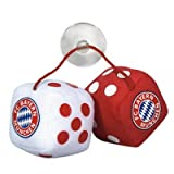 FC Bayern München Plüschwürfel Auto Glück