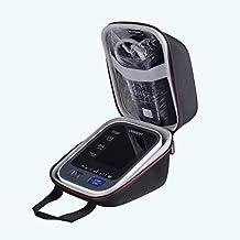 LTGEM EVA Hard Caso Viajar Proceso de Llevar Bolso para Omron 10 Serie Wireless Upper Brazo Tensiómetro (BP786 / BP785N / BP791IT) – Black