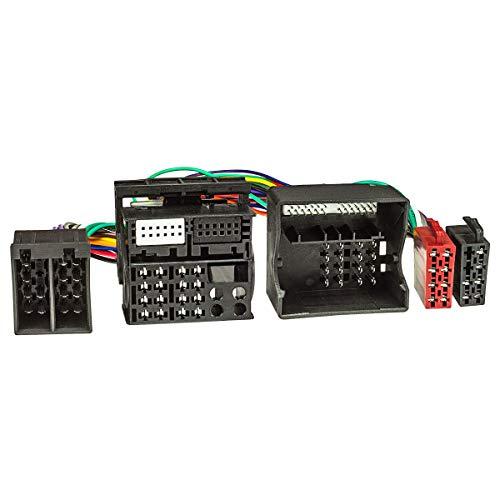 tomzz Audio, 7304-002, cavo connettore ISO-T per auto con Quadlock per l\'alimentazione dell\'amplificatore ISO vivavoce per THB Parrot Dabendorf i-sotec Match